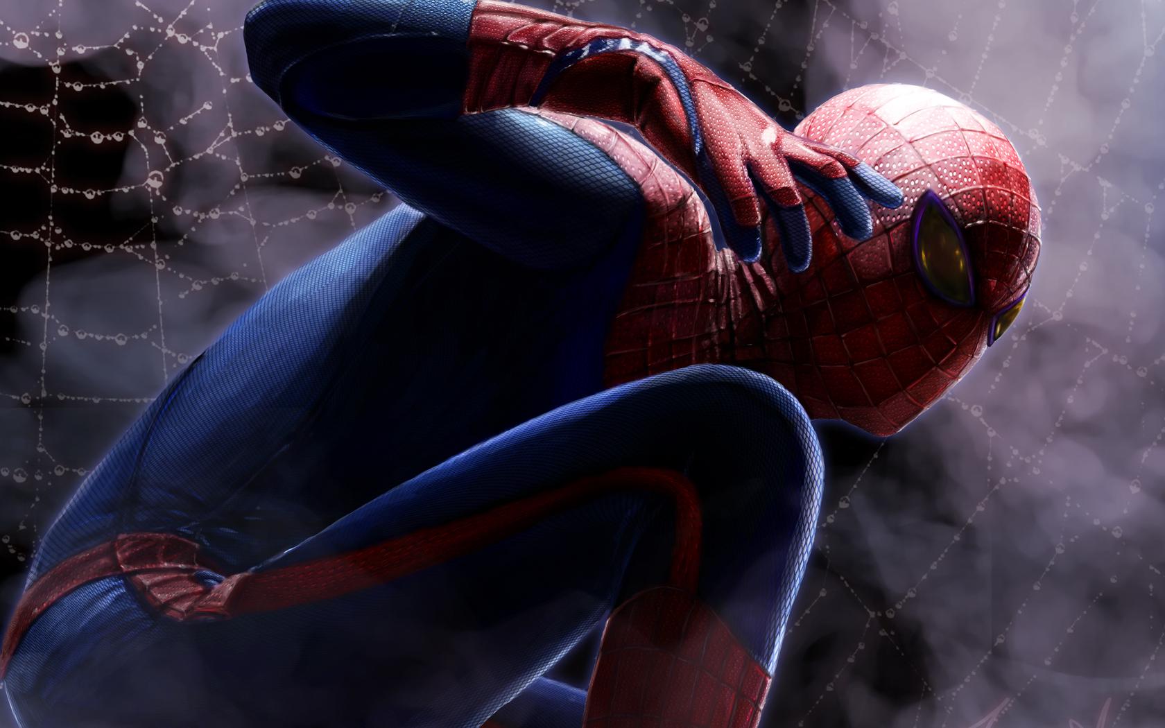 wallpaperarchives4408art spider man wallpaper superhero spider man 1680x1050