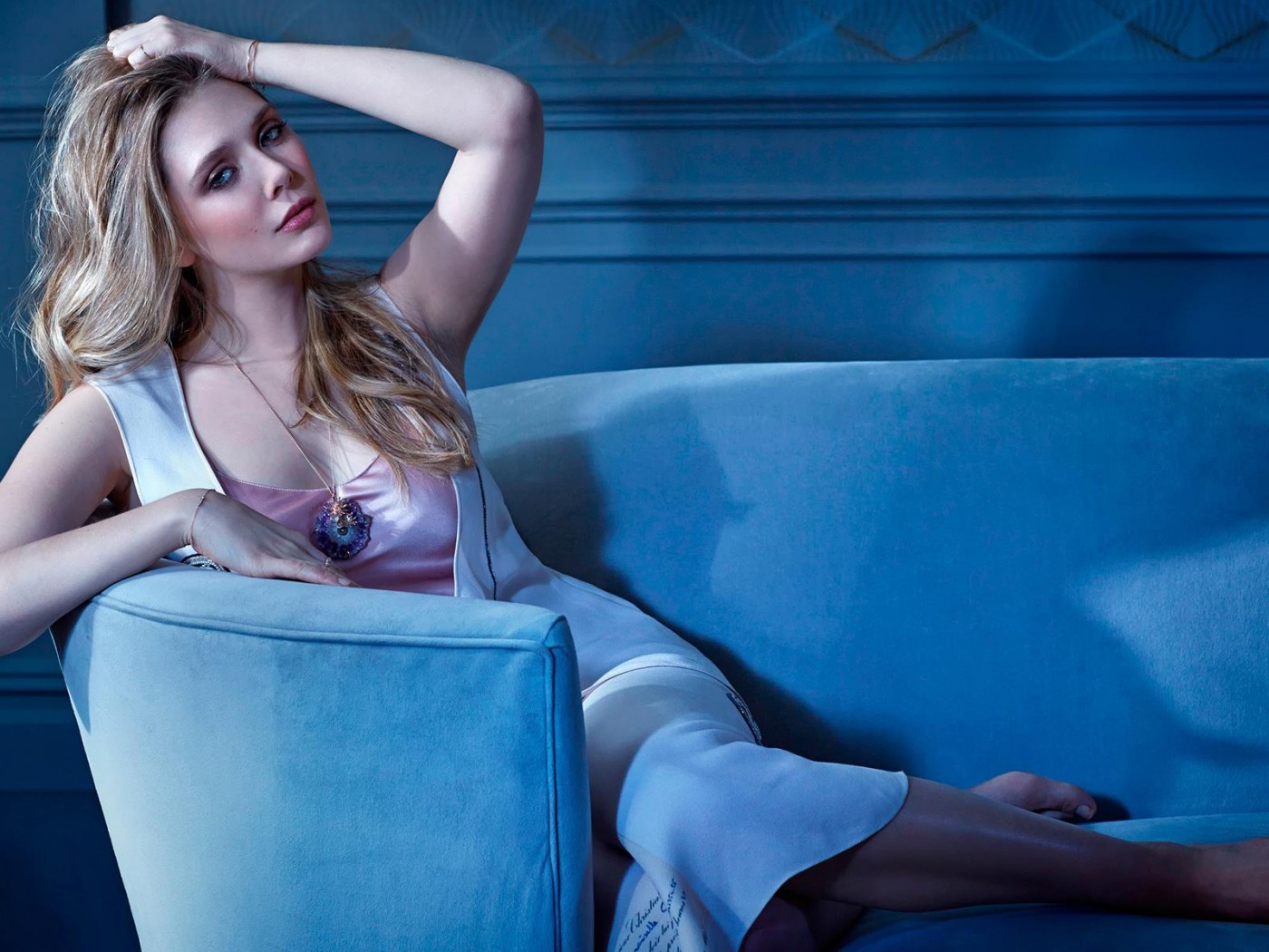 Elizabeth Olsen HD desktop wallpaper Widescreen High 1400x1050