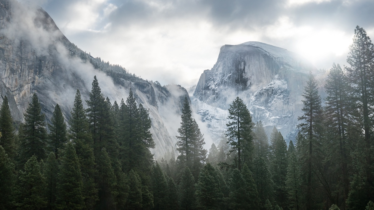 Yosemite wallpapers sized to fill the space if Apple does indeed 1200x676