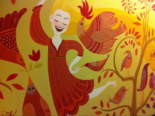 Tangled Mural 540x404
