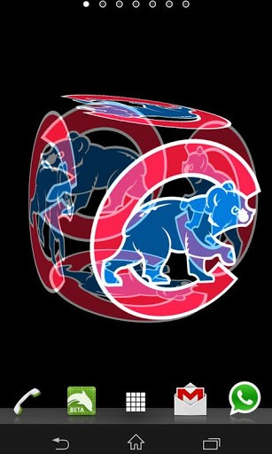 Chicago Cubs Logo Wallpaper Iphone 3d chicago cubs live wallpaper 307x512