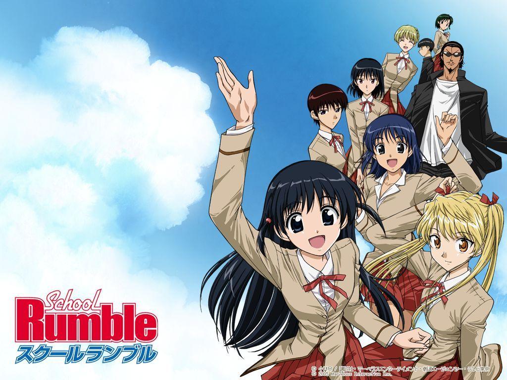 School Rumble Anima Wallpaper 1024x768