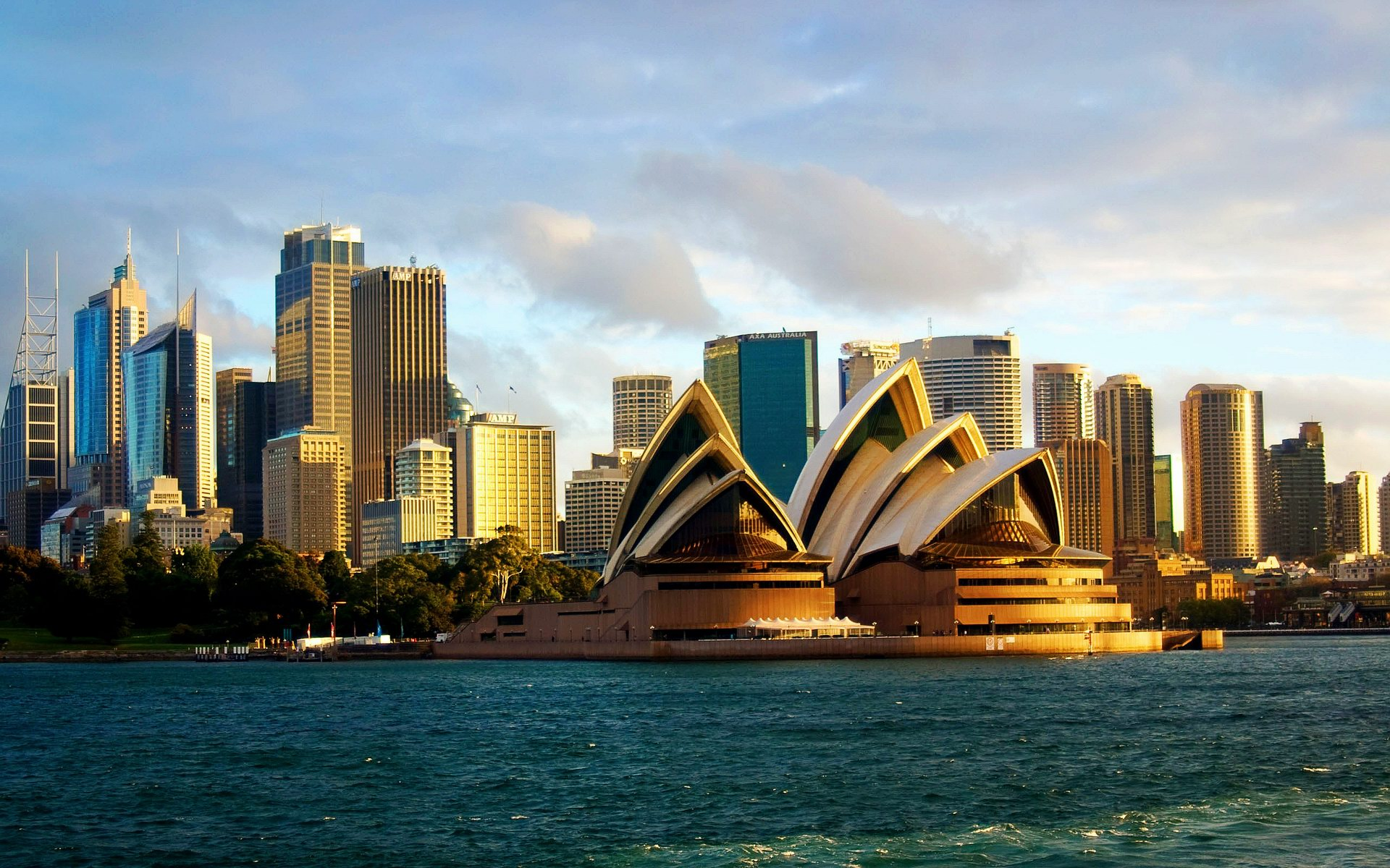 Sydney Opera House Cityscape Wallpaper Travel HD Wallpapers 1920x1200