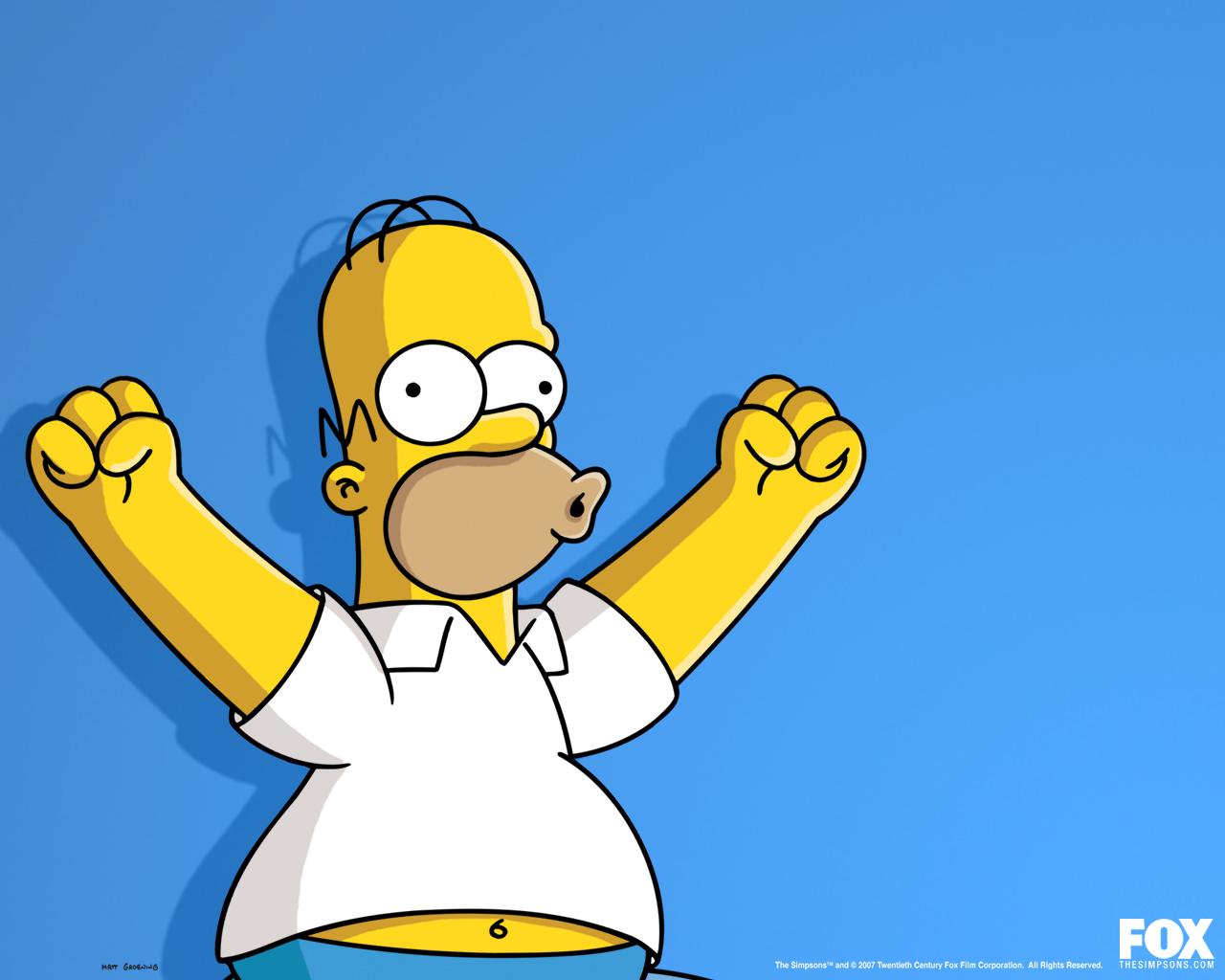 Homer Wallpaper   The Simpsons Wallpaper 29294899 1280x1024