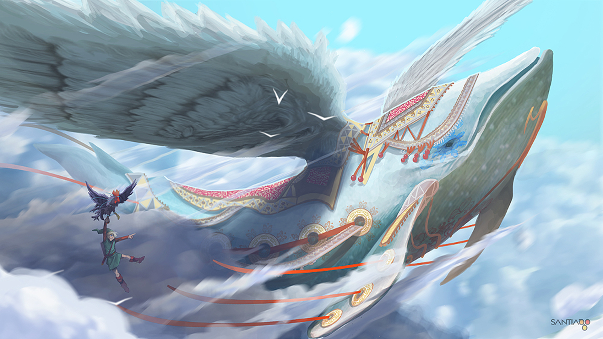 Free Download 177 The Legend Of Zelda Skyward Sword Wallpapers For