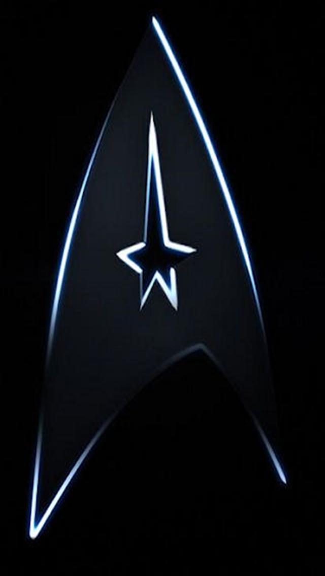 Star Trek Badge LOGO iPhone Wallpapers iPhone 5s4s3G Wallpapers 640x1136