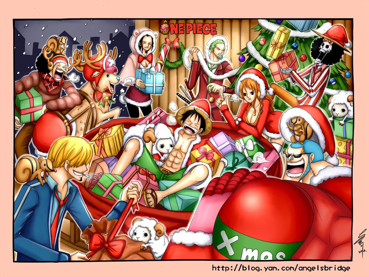 Anime Christmas Wallpaper HD - WallpaperSafari
