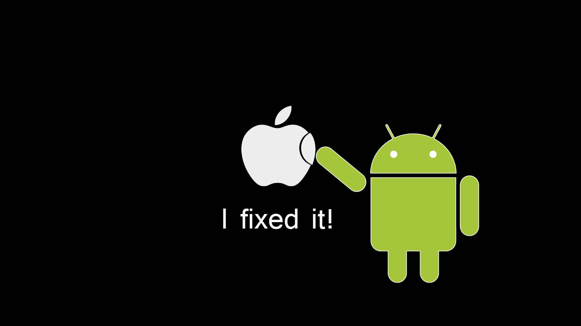 Android cannot do that to Apple   Apple Wallpaper 1920x1080