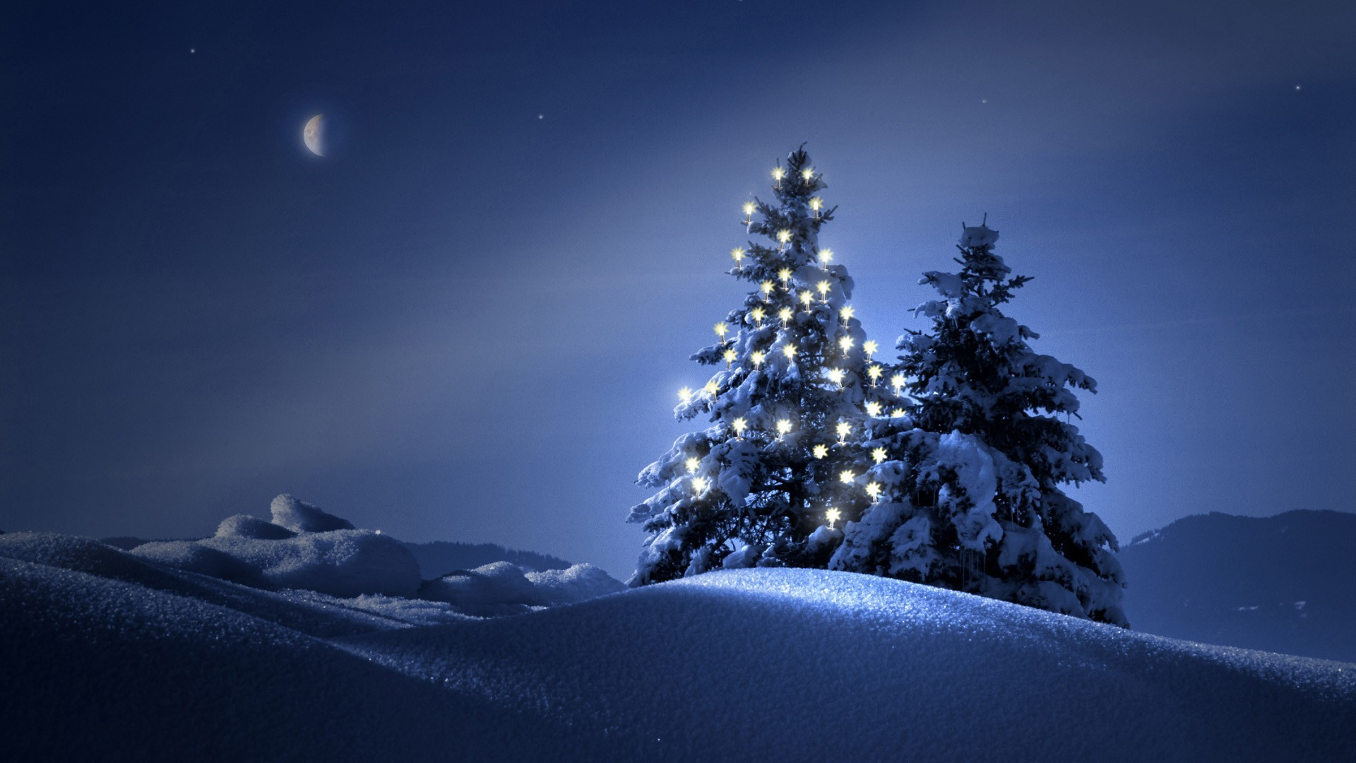 Snowy Desktop Backgrounds - WallpaperSafari