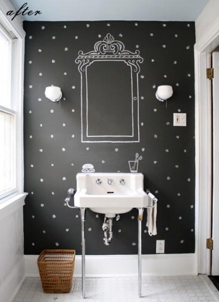 fun wallpaper Bath Pinterest 437x600