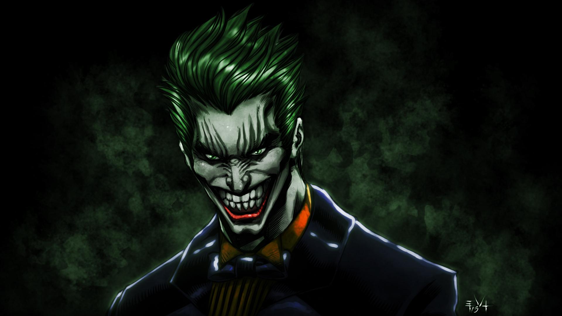 The Joker wallpaper and video by ErikVonLehmann 1920x1080