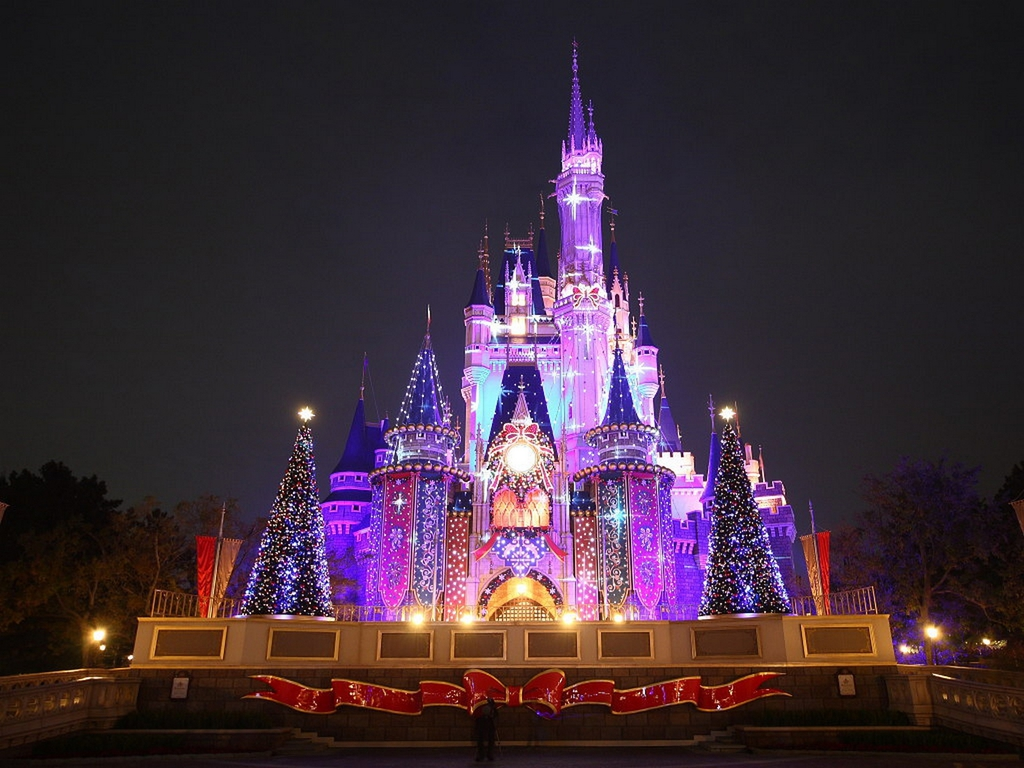 Disney Castle Wallpaper HD wallpaper background 1024x768