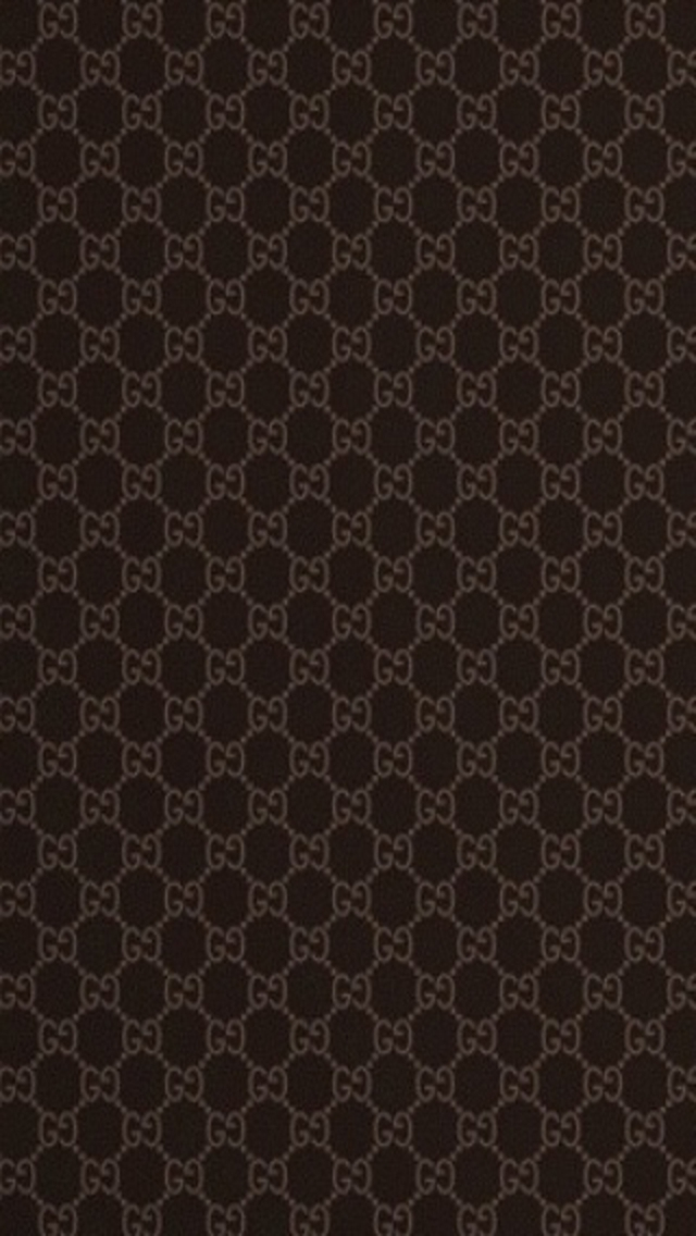 Gucci Dark Pattern iPhone Wallpaper Download iPhone Wallpapers and 640x1136