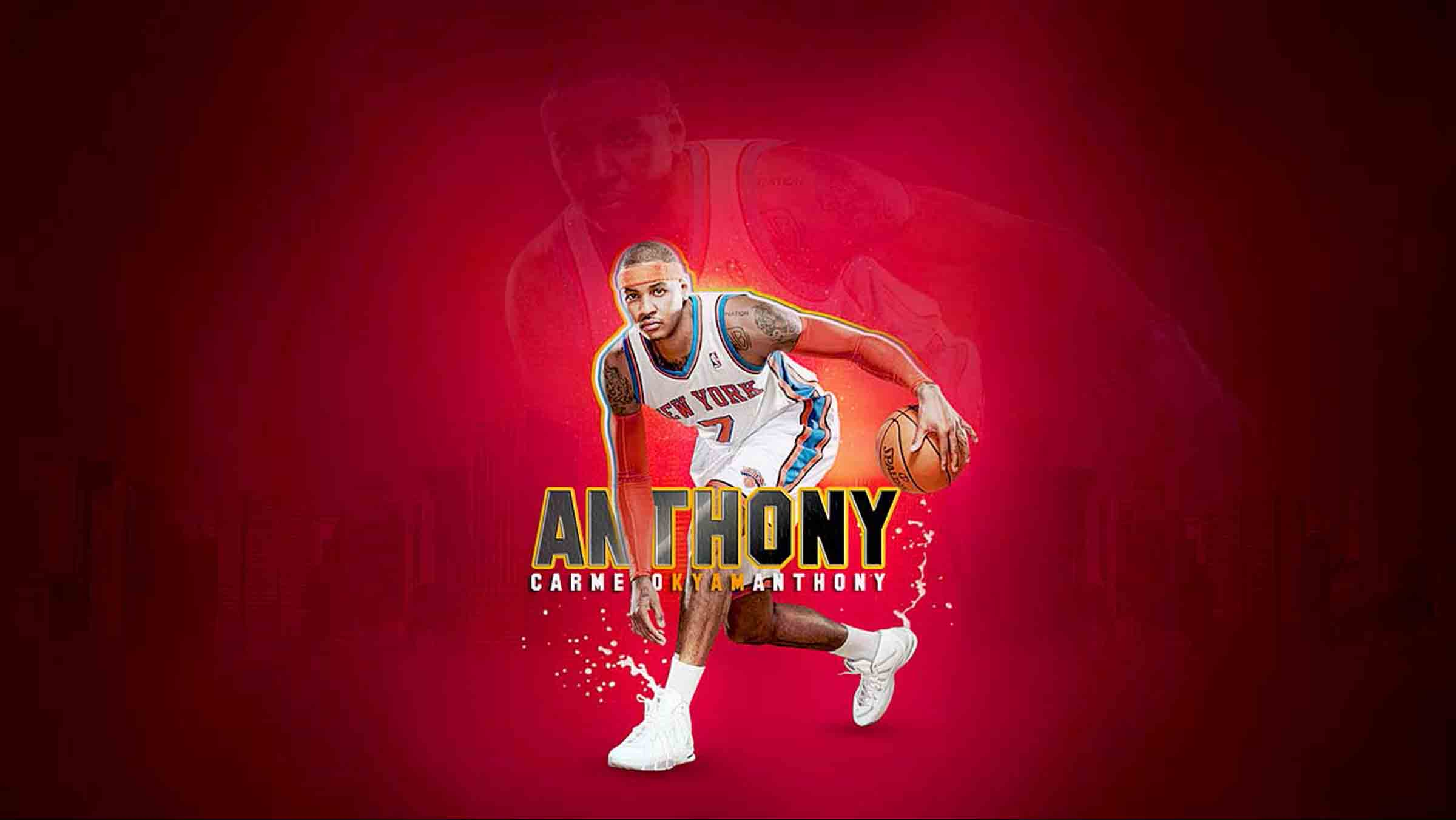 Download Carmelo Anthony Knicks Wallpaper High Resolution HD 2400x1351