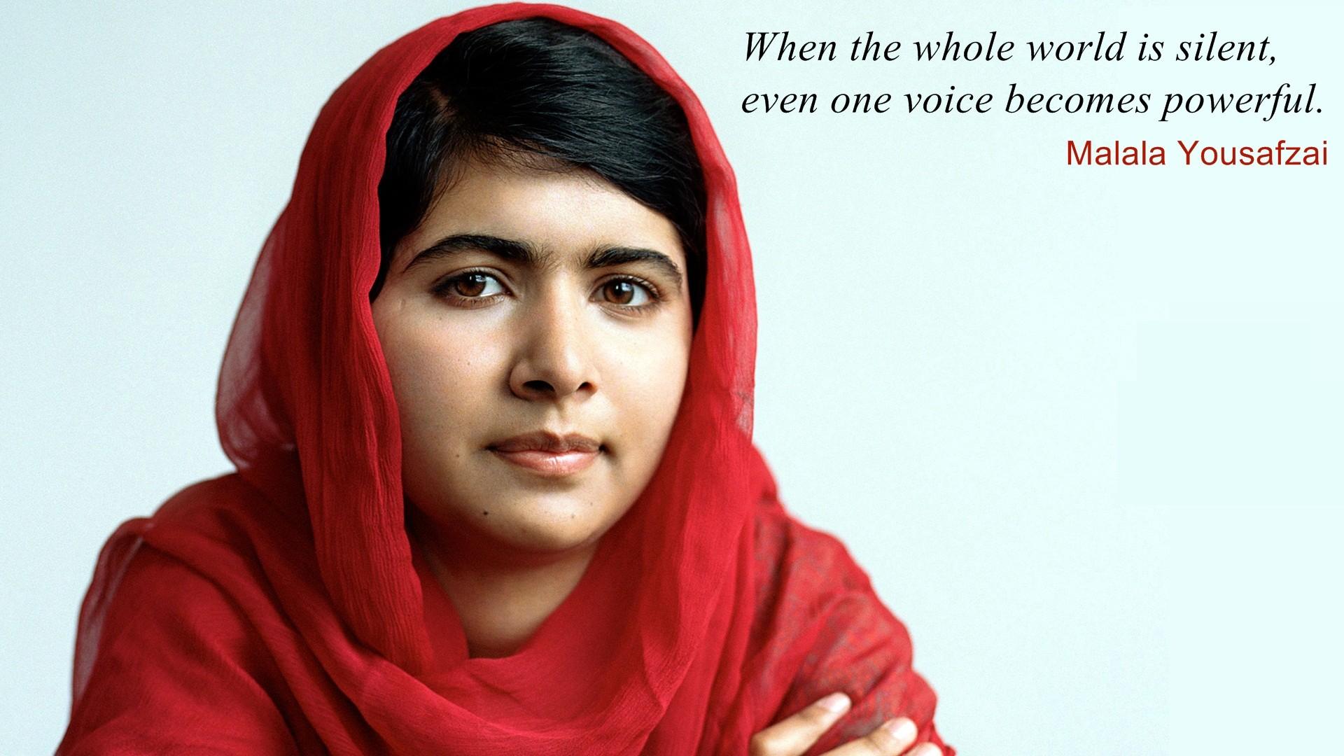 Malala Yousafzai wallpaper 1920x1080 63701 1920x1080