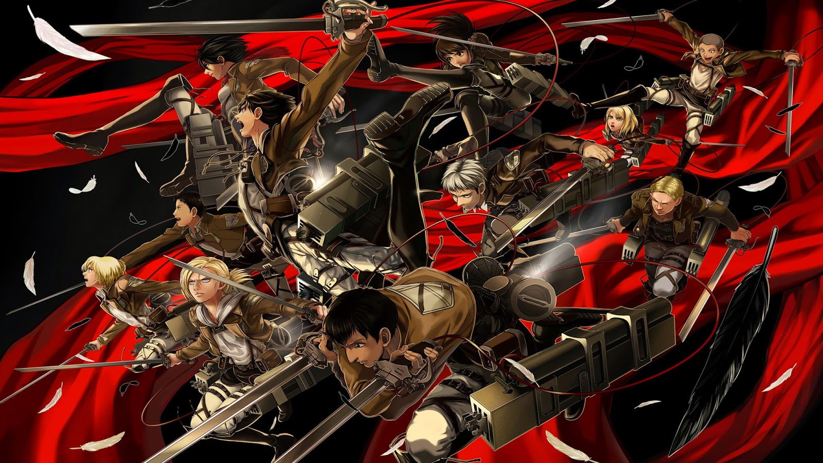 Pin Attack On Titan 3d Maneuver Gear 1600x900