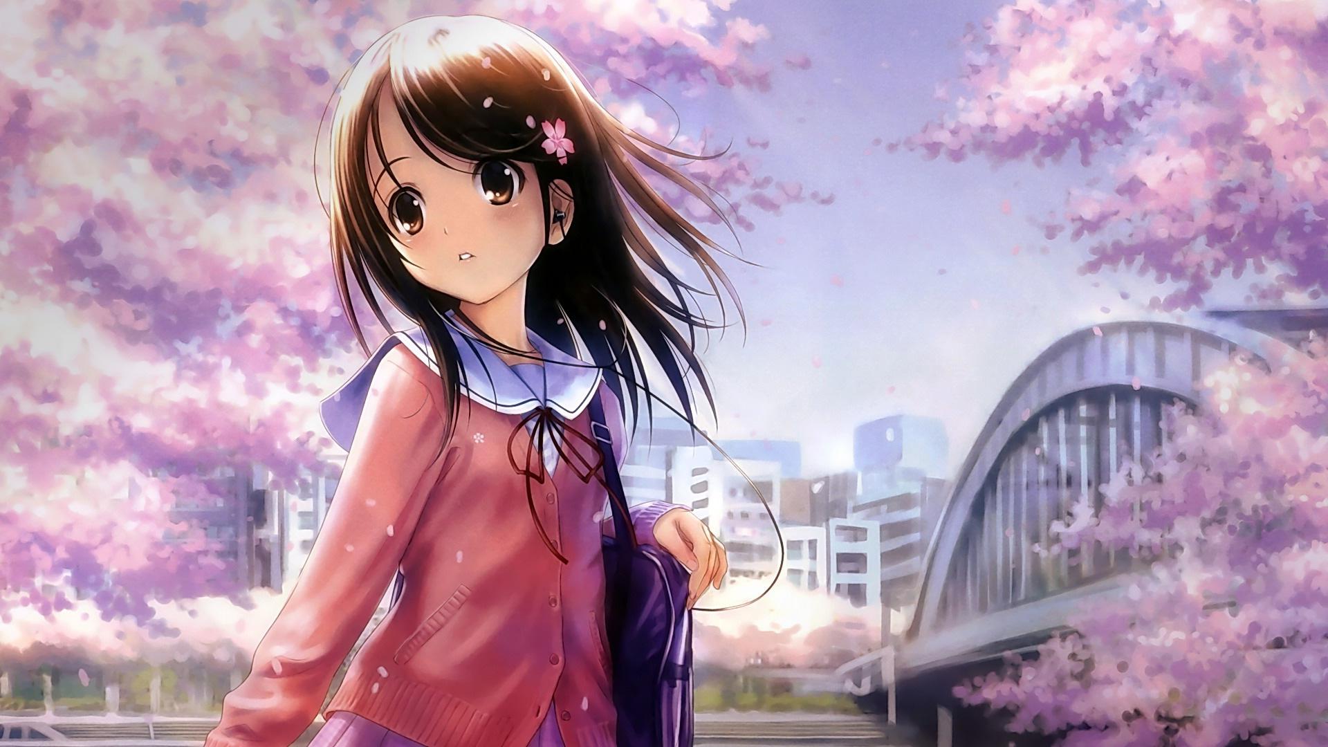 Calendar Girl Wallpaper Hd : Anime girl hd wallpaper p wallpapersafari