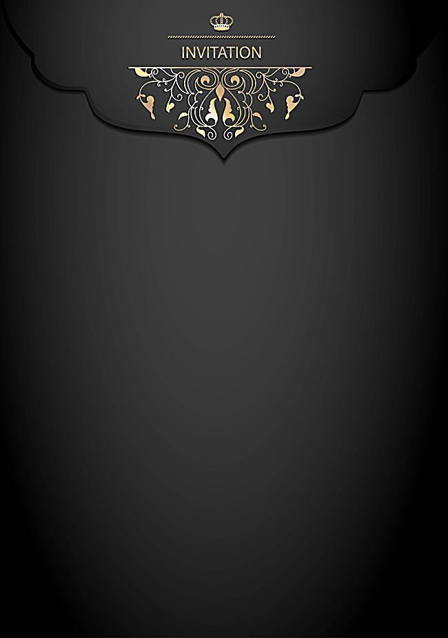 Vector Black Card Background Texture Atmospheric Continental 650x924