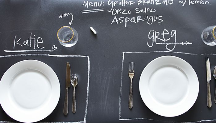 DIY Your Way Organized with Chalkboard Wallpaper - Stickable Wallpaper -  WallpaperSafari - Stickable Wallpaper Design Your Life