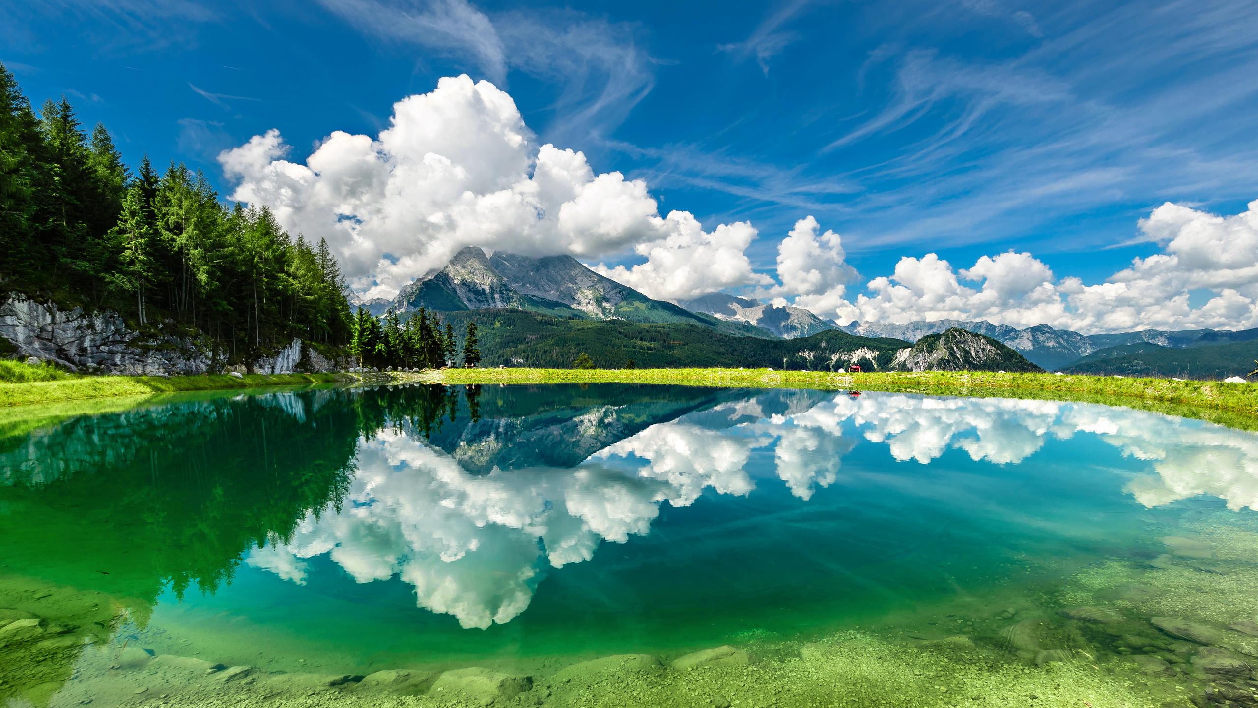 Beautiful Ocean Landscape HD Desktop Wallpaper 2560x1440