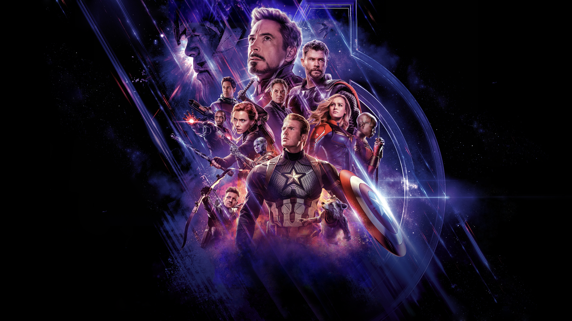 207 Avengers Endgame HD Wallpapers Background Images   Wallpaper 1920x1080