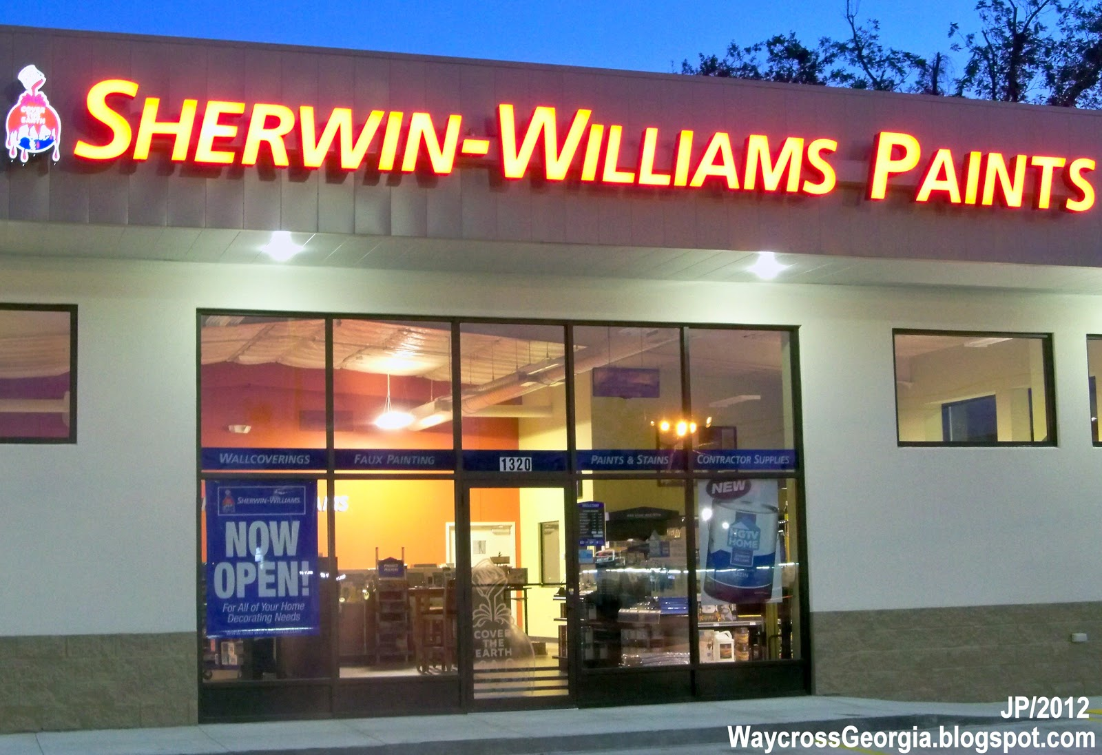 SHERWIN WILLIAMS PAINTS WAYCROSS GEORGIA Memorial Drive Sherwin 1600x1096