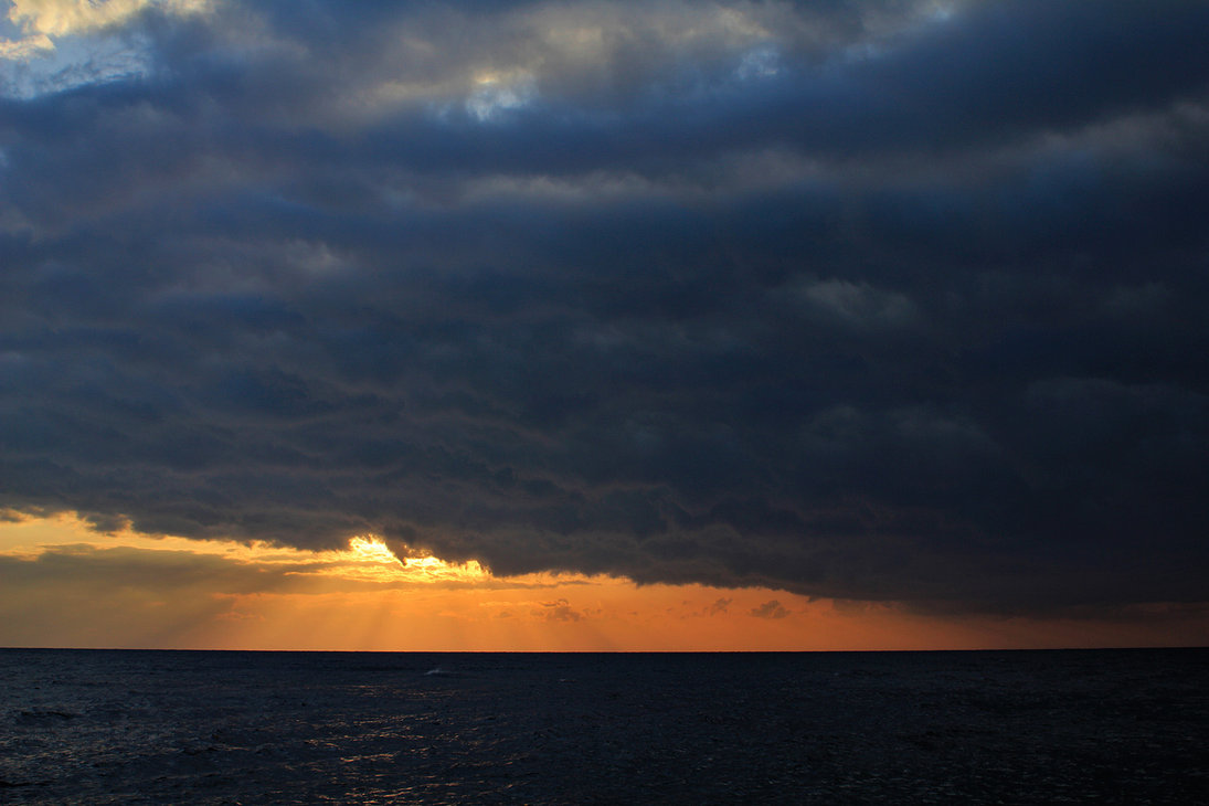 Sunset sky and cloud detail CLD4 wallpaper by LemnosExplorer on 1095x730