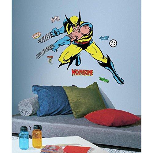 RMK2354GM RoomMates Marvel Classic Wolverine Peel Stick Gia Multi 500x500