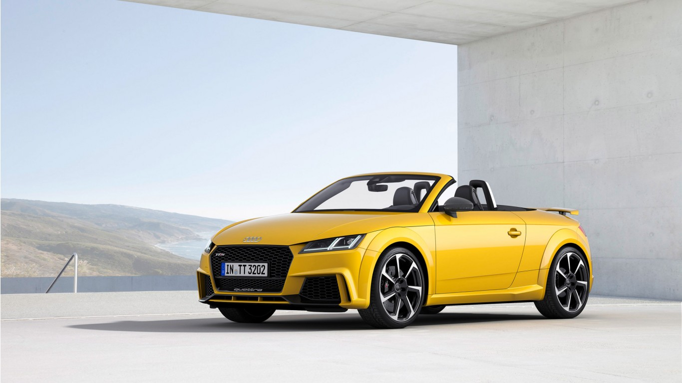 2017 Audi TT RS Roadster 4 Wallpaper | HD Car Wallpapers