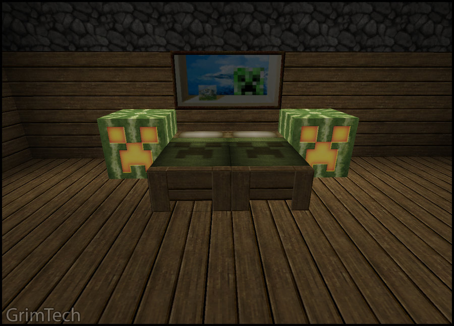 Minecraft Bedroom Set by PatrickJr 900x647