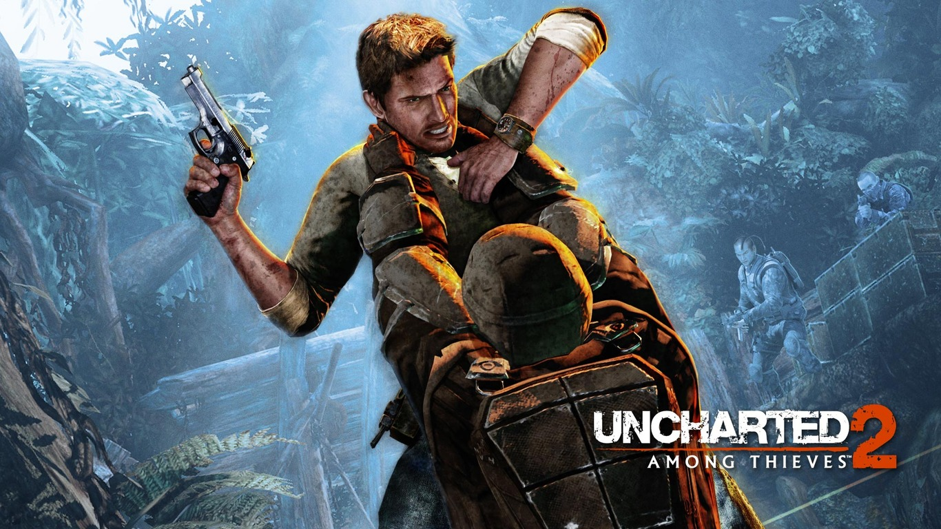 Download Uncharted 2   Among Thieves wallpaper 1366x768