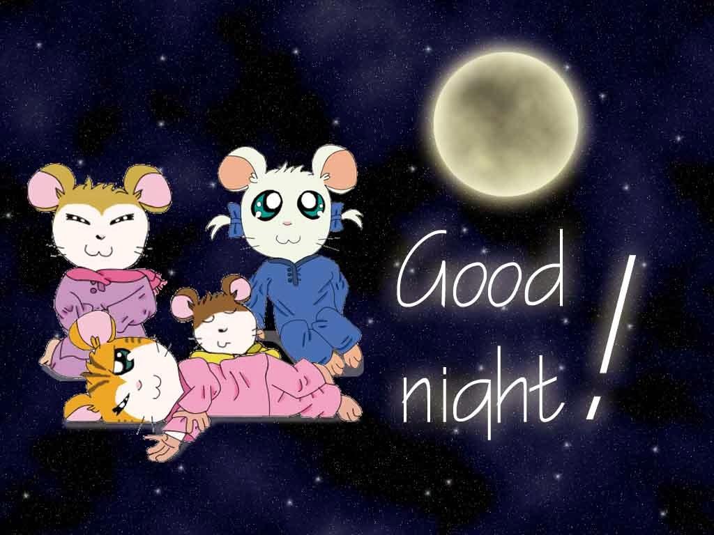 Sweet good night wallpaper free download
