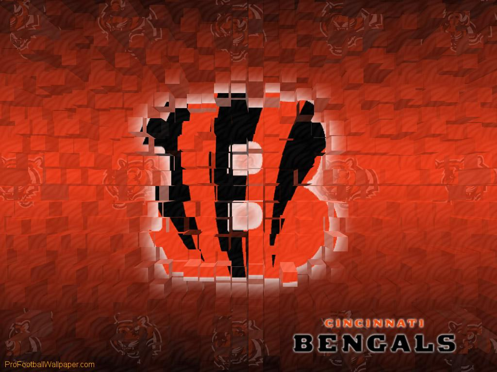 Download Cincinnati Bengals wallpaper Cincinnati Bengals 3D 1024x768
