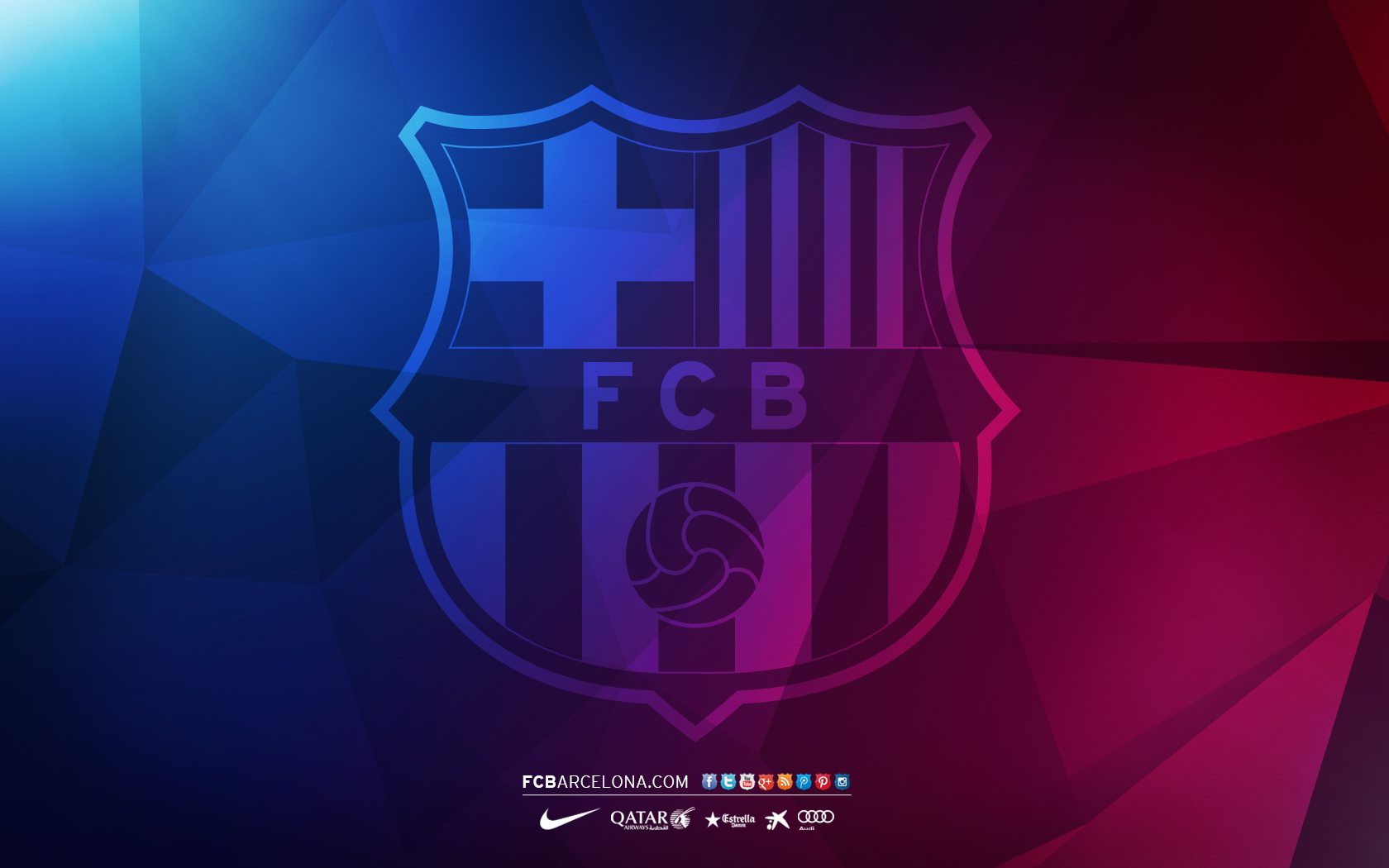 Free 2014 Wallpaper Logo Barcelona 2015 [