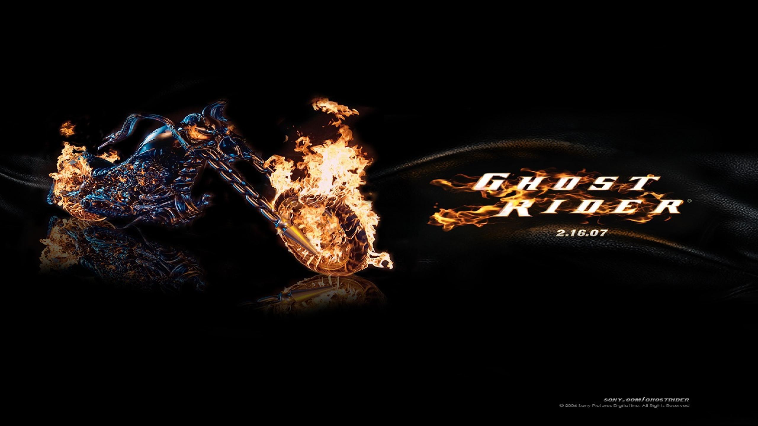 Download Movie desktop wallpapersGhost Rider desktop wallpapers 2560x1440