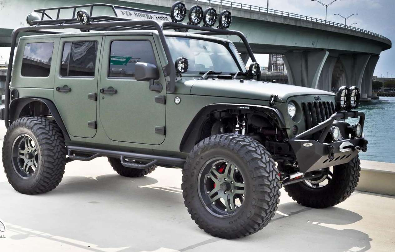 Jeep Wrangler Wallpaper Jeep Wrangler Unlimited Custom Wallpaper 1265x806