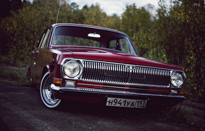 Wallpaper gaz Volga Volga low classic GAZ 24 images for 1332x850