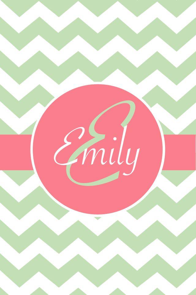 Emily Name Wallpaper WallpaperSafari