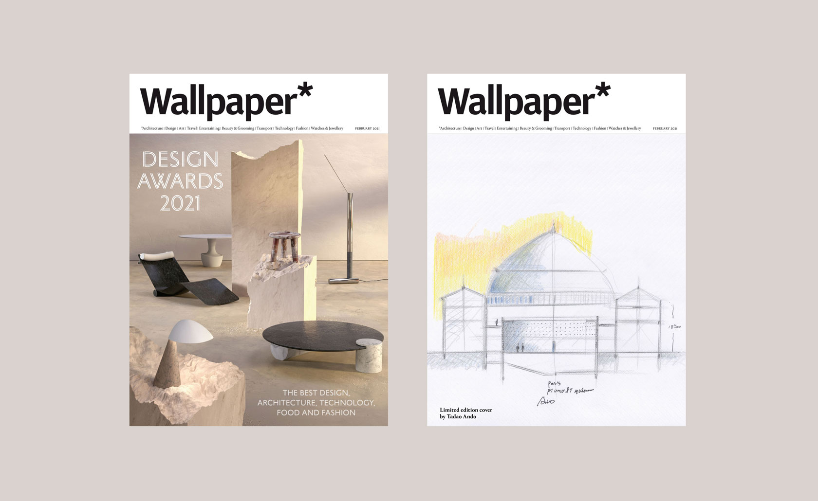 Introducing the Wallpaper Design Awards 2021 Febuary Issue
