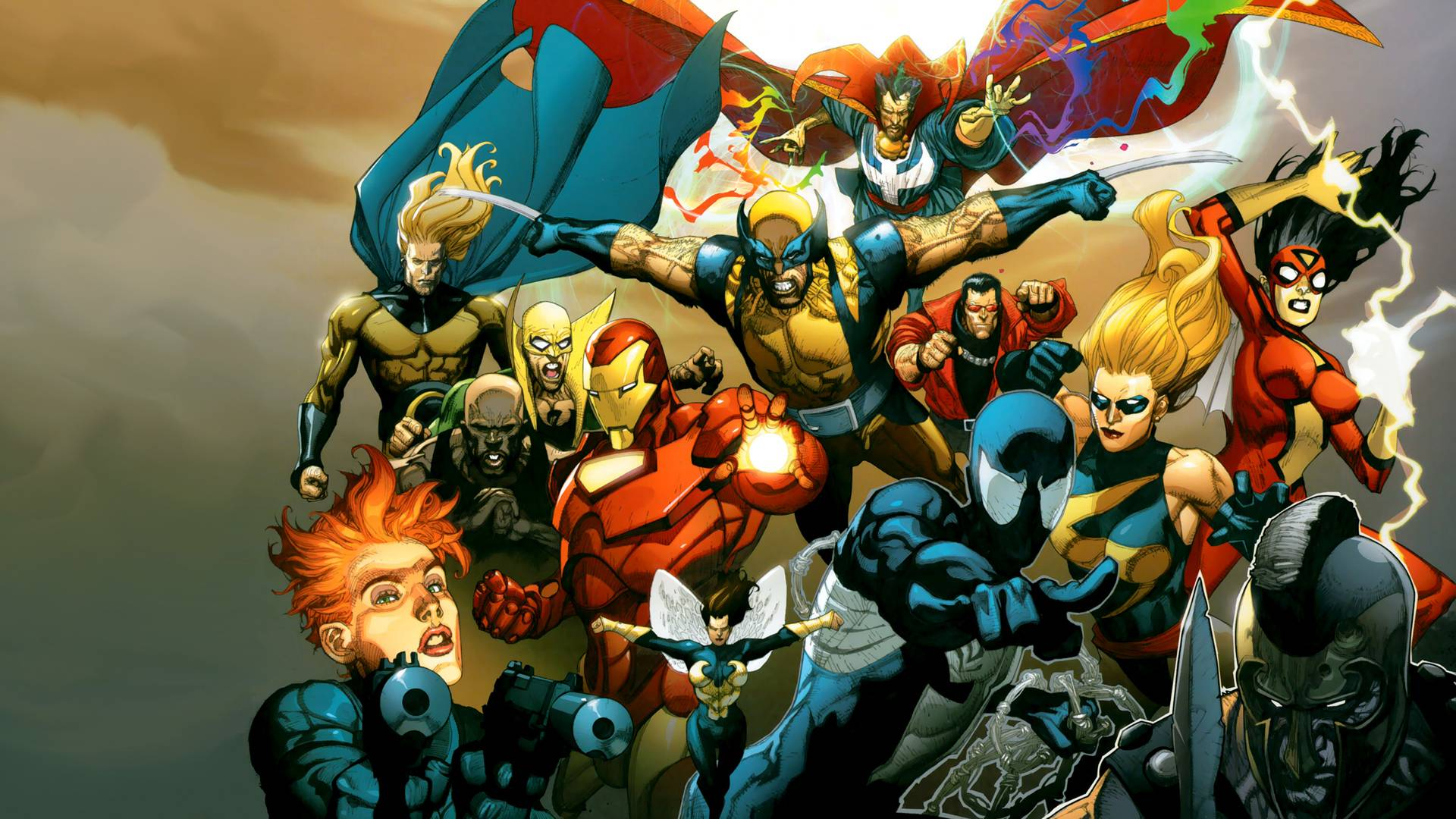 Marvel HD Wallpapers 1920x1080