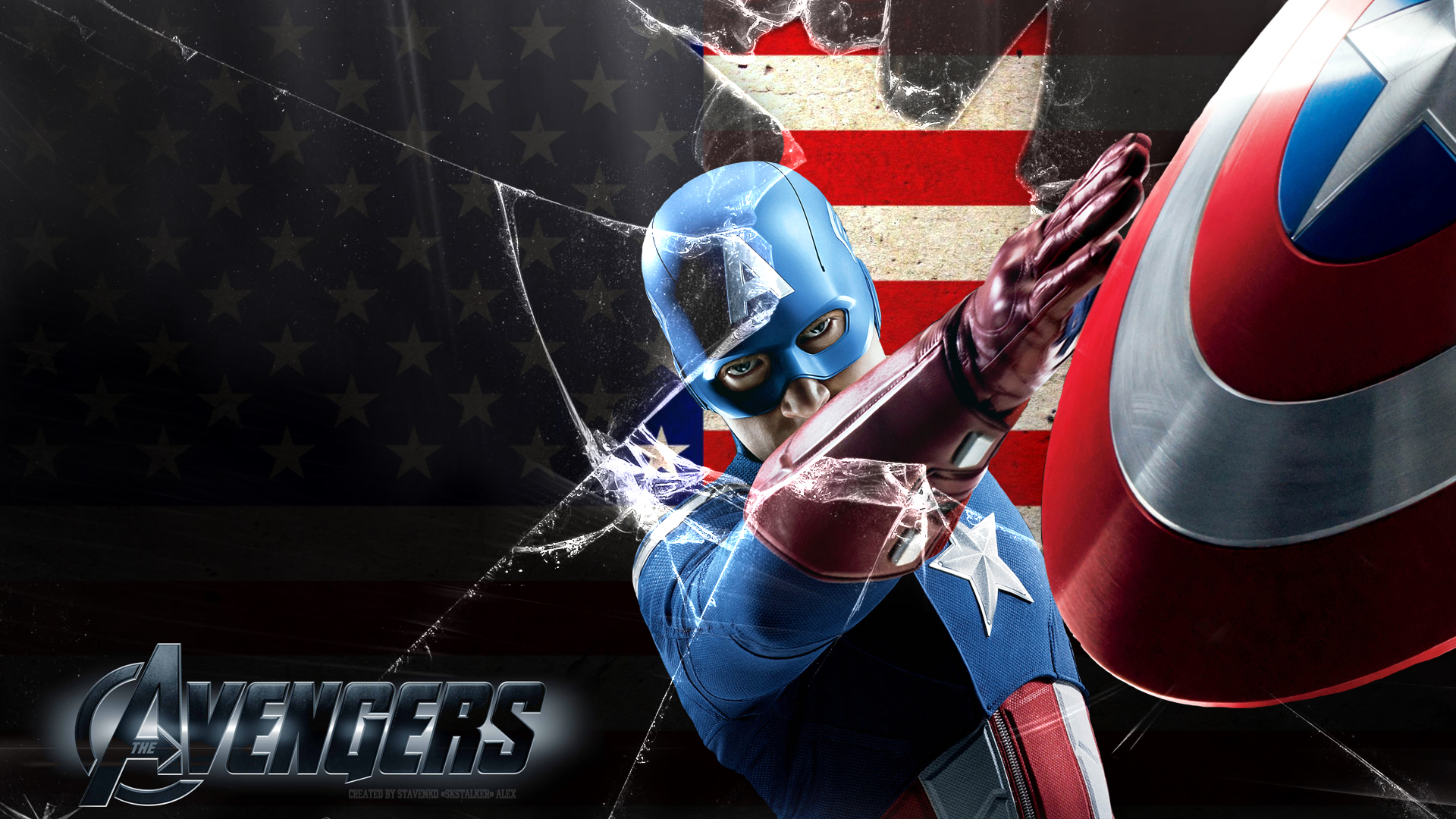 Hd wallpaper of captain america - Captain America Wallpaper 1080p By Skstalker Fan Art Wallpaper