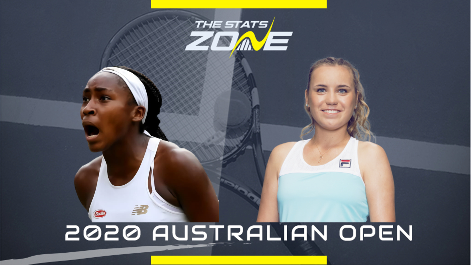 2020 Australian Open Coco Gauff vs Sofia Kenin Preview 1600x900