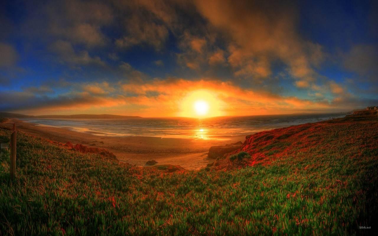 Sunset Wallpaper   Nature Wallpaper 1280x800
