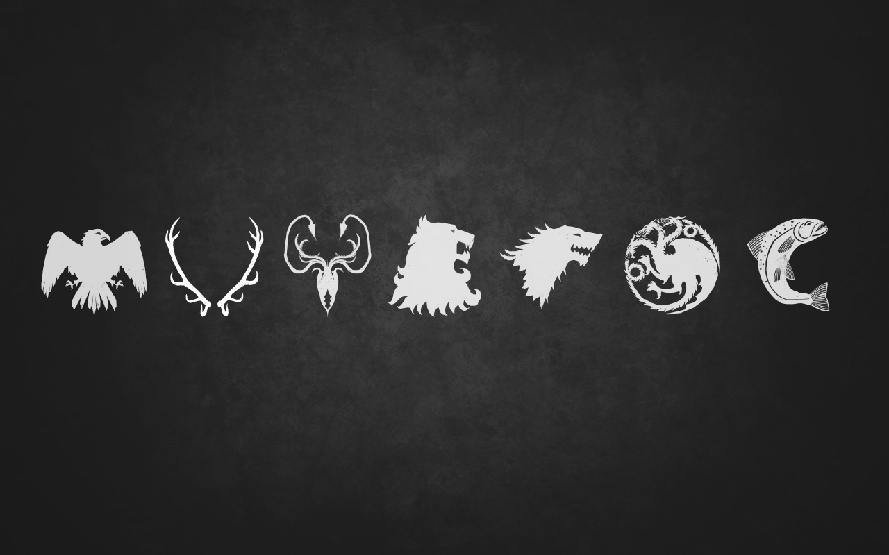 wallpaper game of thrones logo crown game of thrones logo game of 1280x800