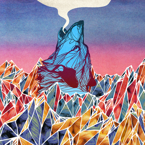 Trippy Wolf Pictures Tags wolf trippy psychedelic 500x500