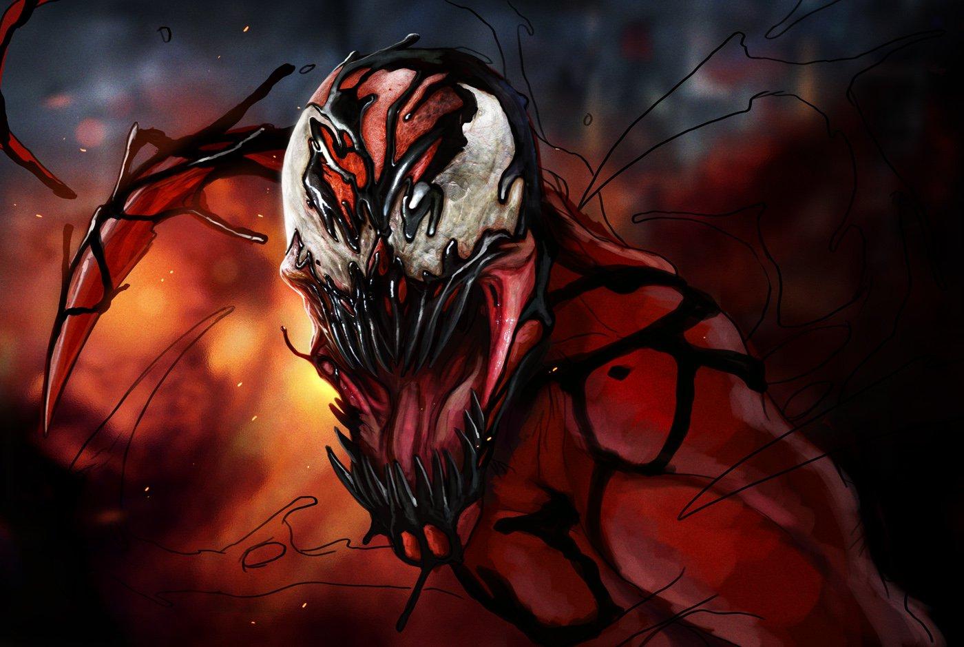 carnage marvel comics spawn 935087 1400x939