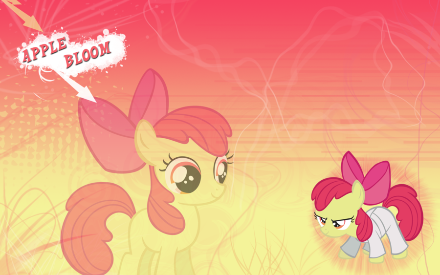 FiM Apple Bloom Wallpaper by M24Designs 900x563
