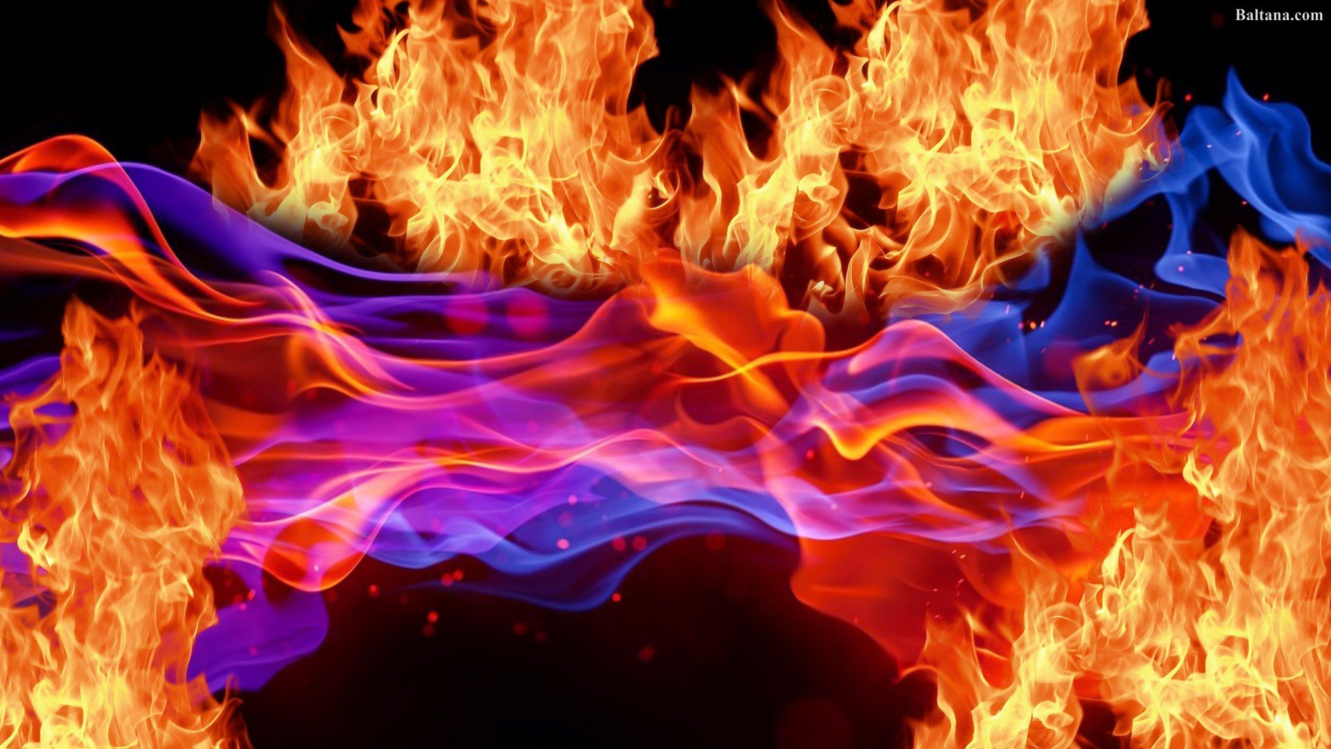 Fire Background Wallpaper 30358   Baltana 1920x1080
