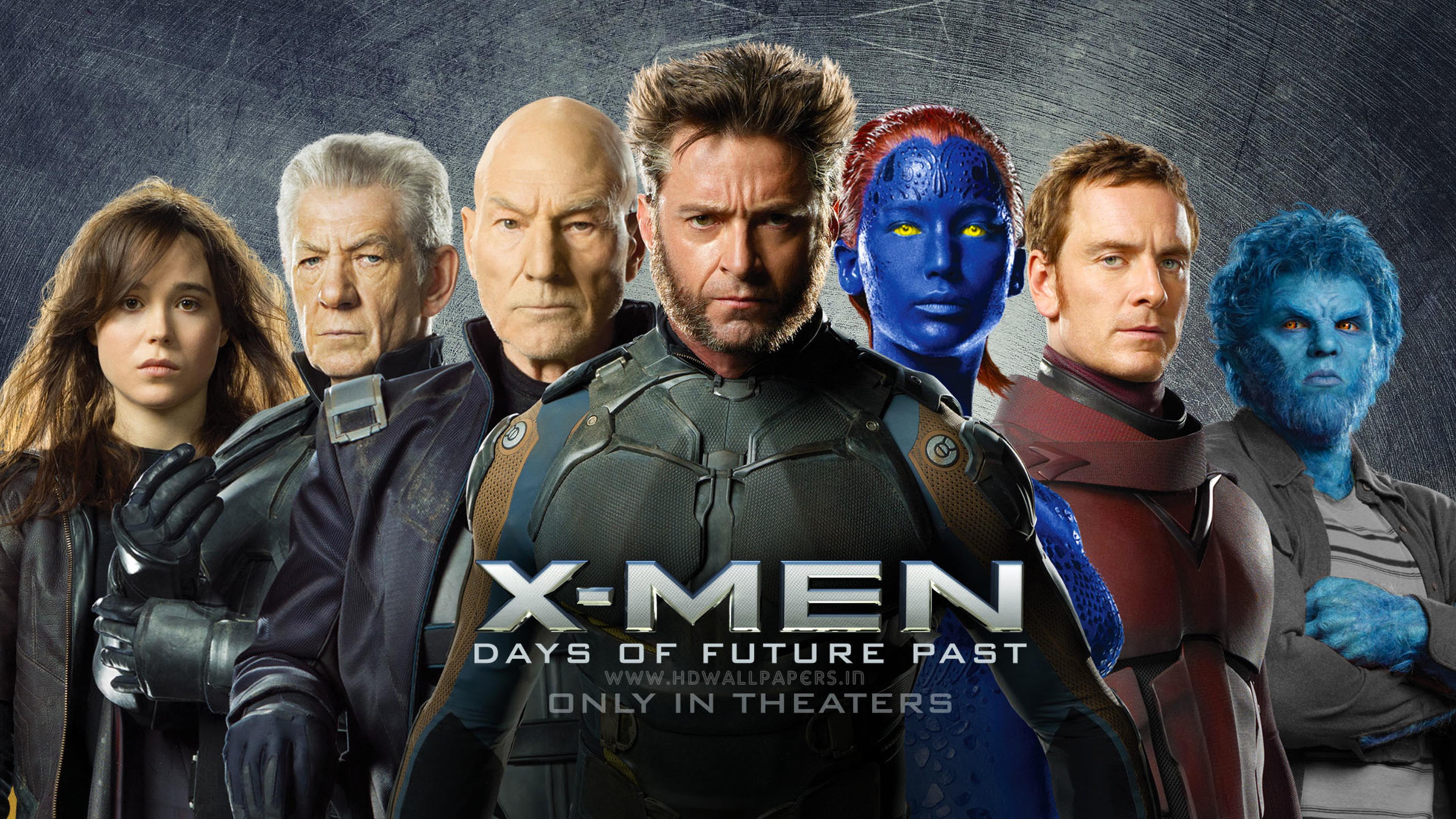 Wallpaper 4k X Men Days Of Future Past movies wallpapers x men 3840x2160