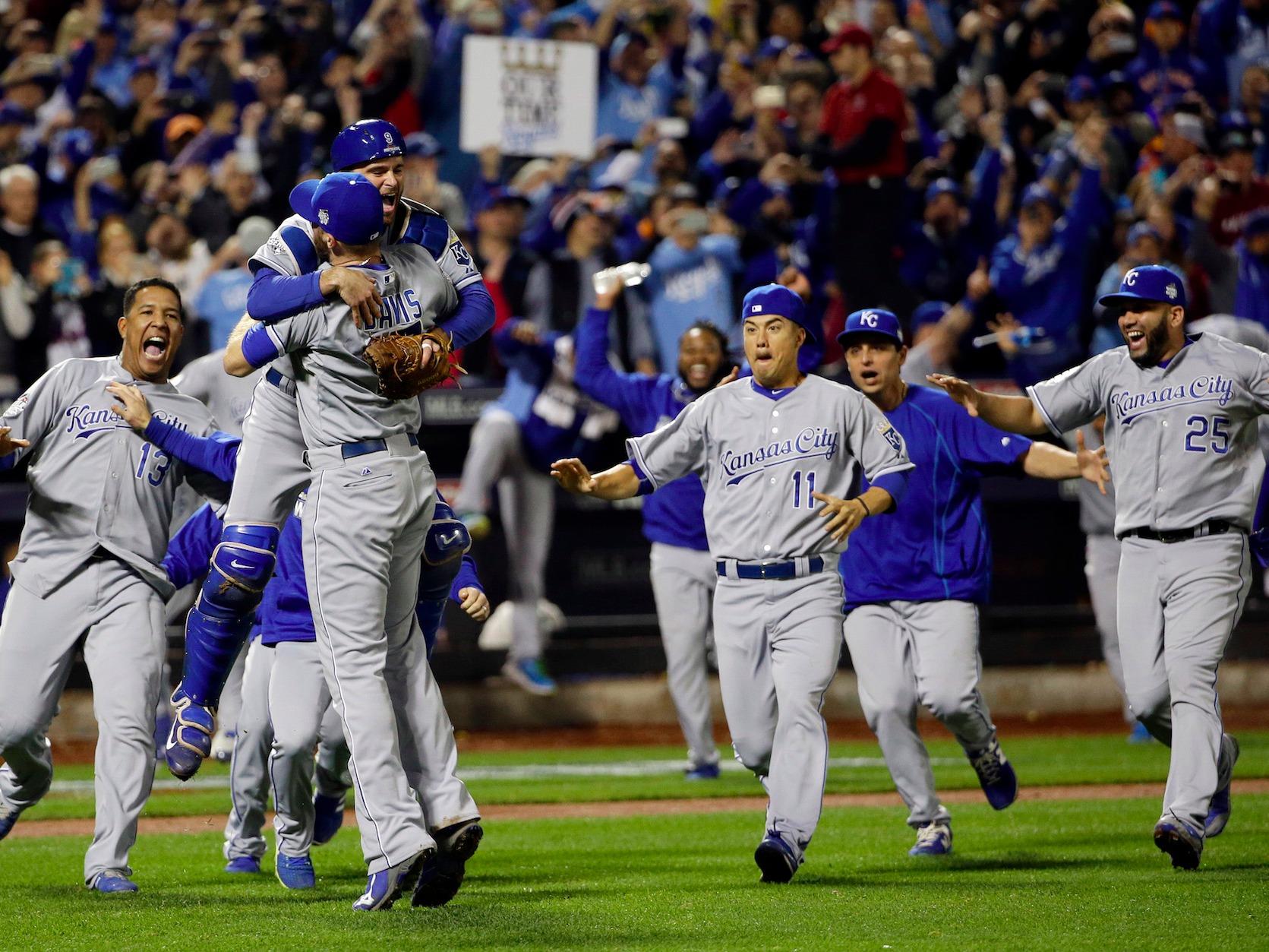 Kansas City Royals win World Series   Business Insider 1671x1253